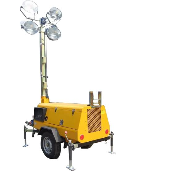4 x 400W Mobile Floodlight