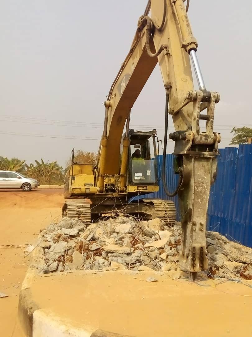 Hydraulic Jackhammer (from CO)