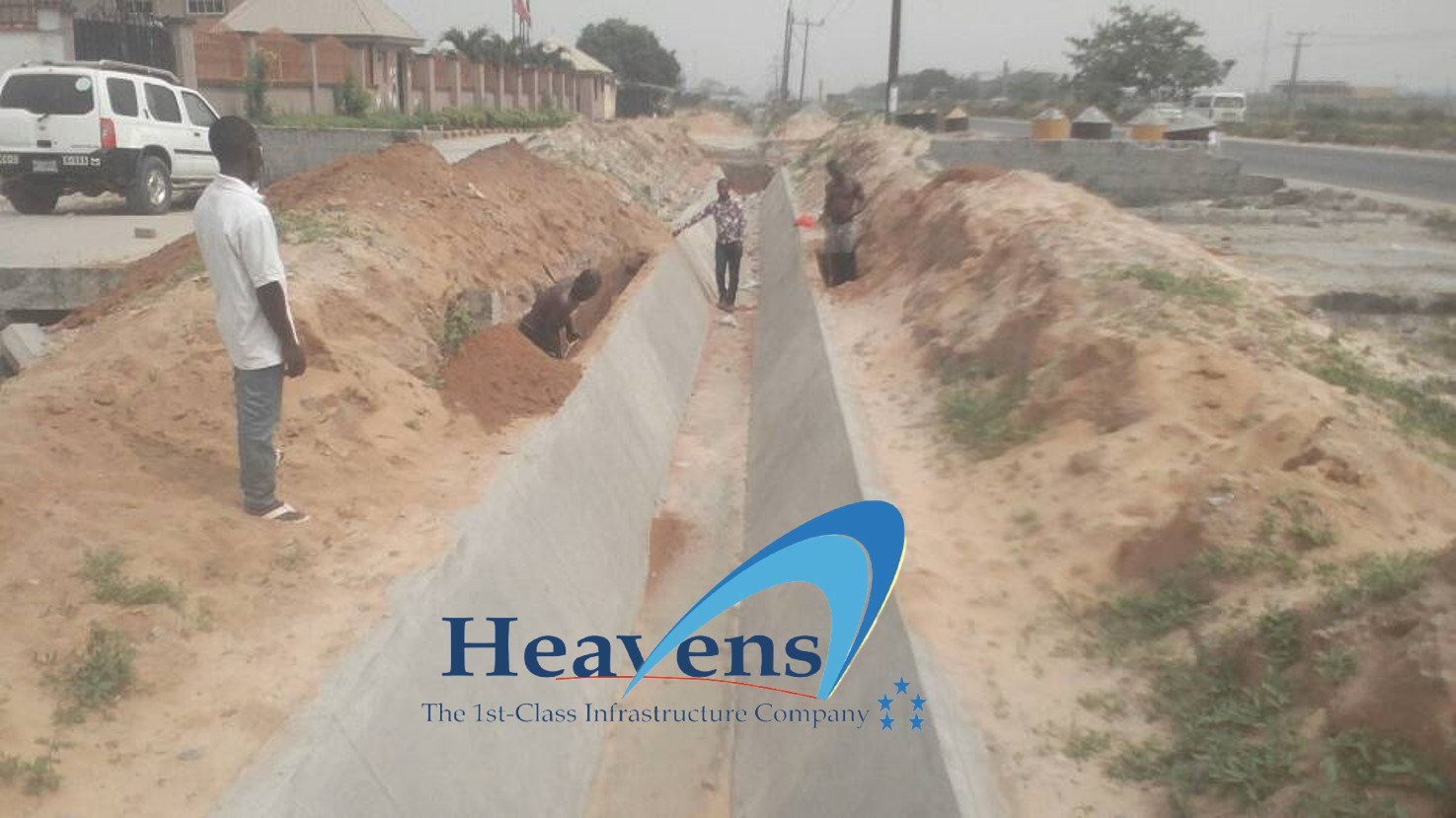 Construction of Culvert – Project 28.
