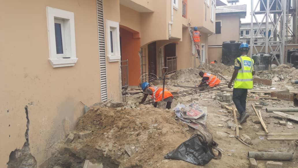 Underpinning Operation of Multi-Storey – Project 25