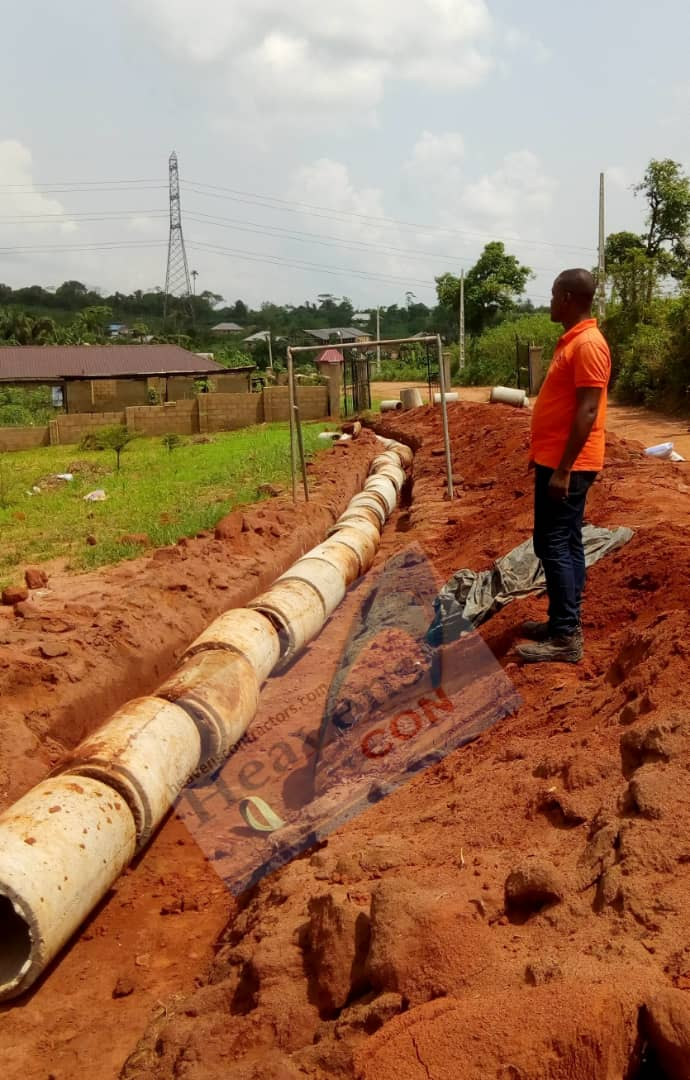 1km Road and Sub-Earth Drainage Project – Project 52