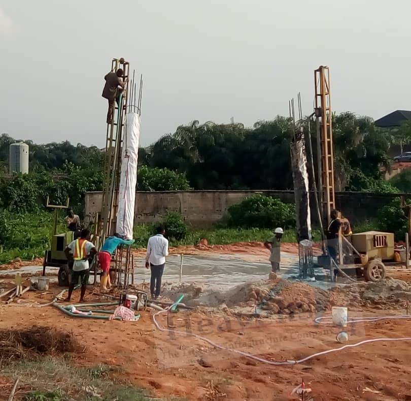 Piling Works (133 Pts, 25m depth, 600mm dia.) – Project 76