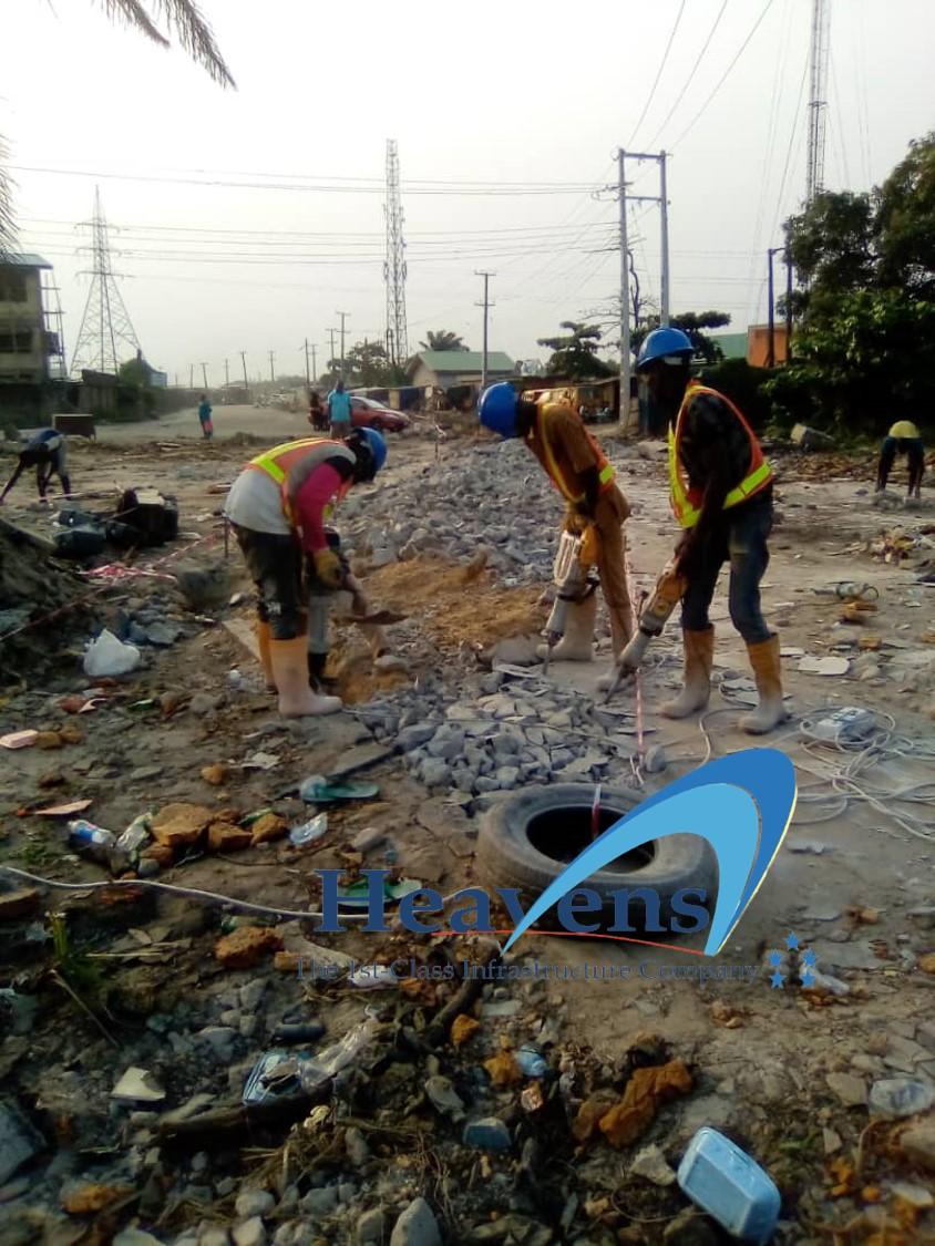 Road Demolition Works @Dustbin Road – Project 78